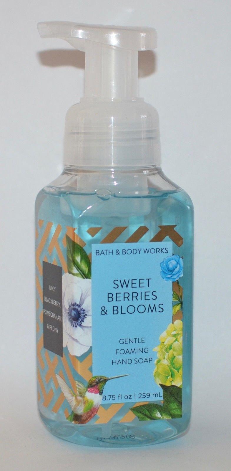 Bath & Body Works Bath Body Works Gentle Foaming Hand Soap Sweet Berries & Blooms
