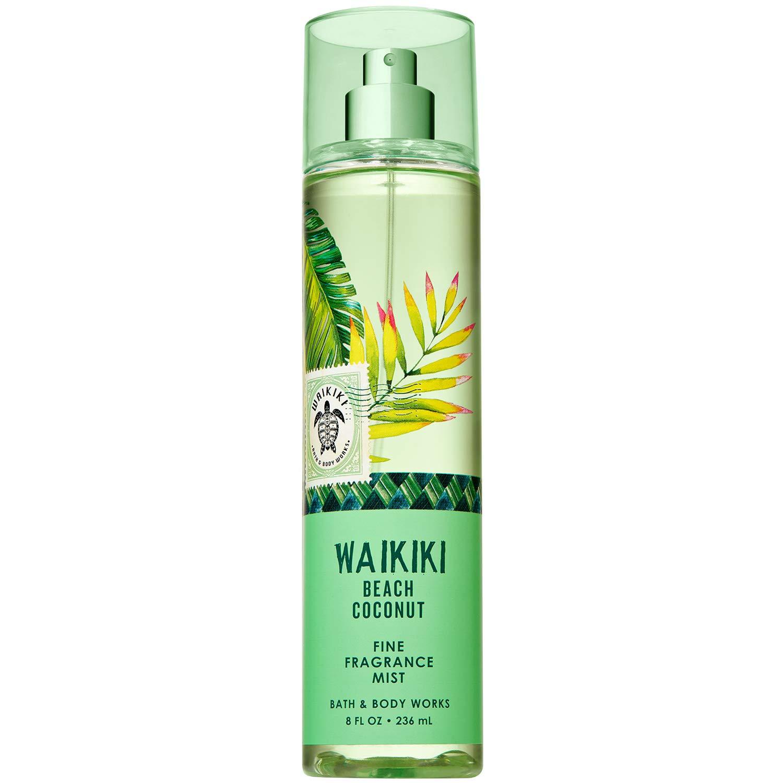 Bath and Body Works - Bath and Body Works WAIKIKI - BEACH COCONUT Fine Fragrance Mist 8 Fluid Ounce (2019 Edition)