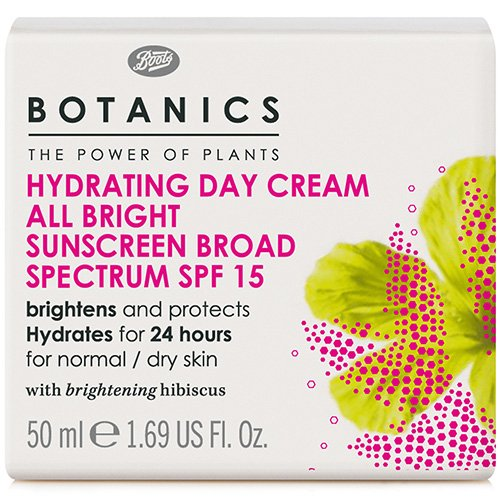 Botanics by Boots - All Bright Hydrating Day Cream SPF15