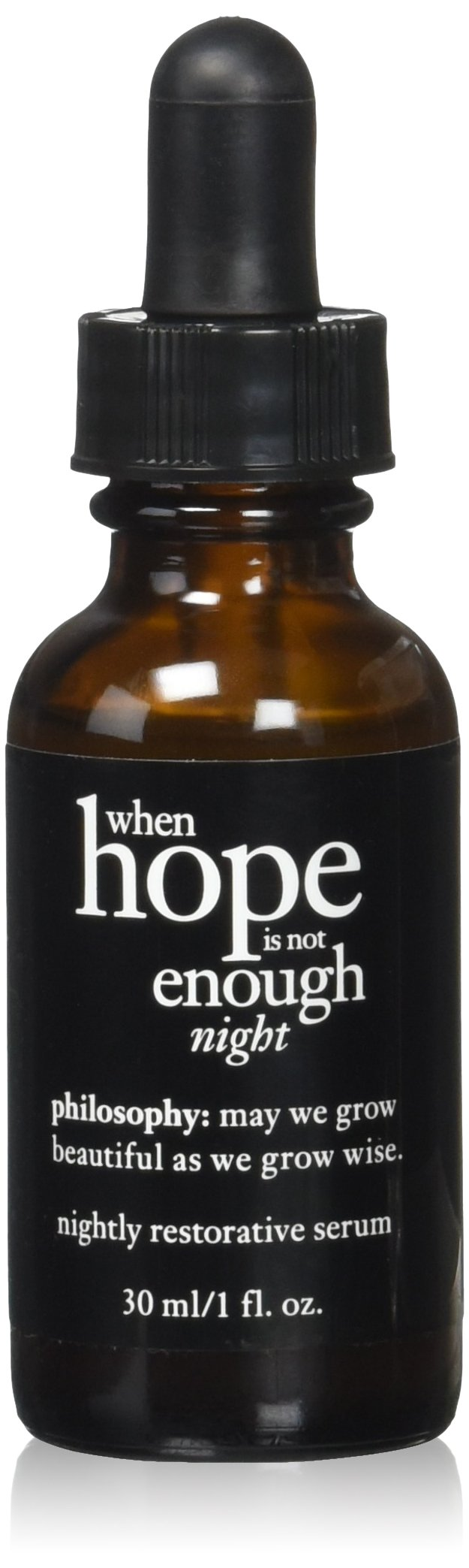 Philosophy - When Hope is not Enough Nightly Restorative Serum