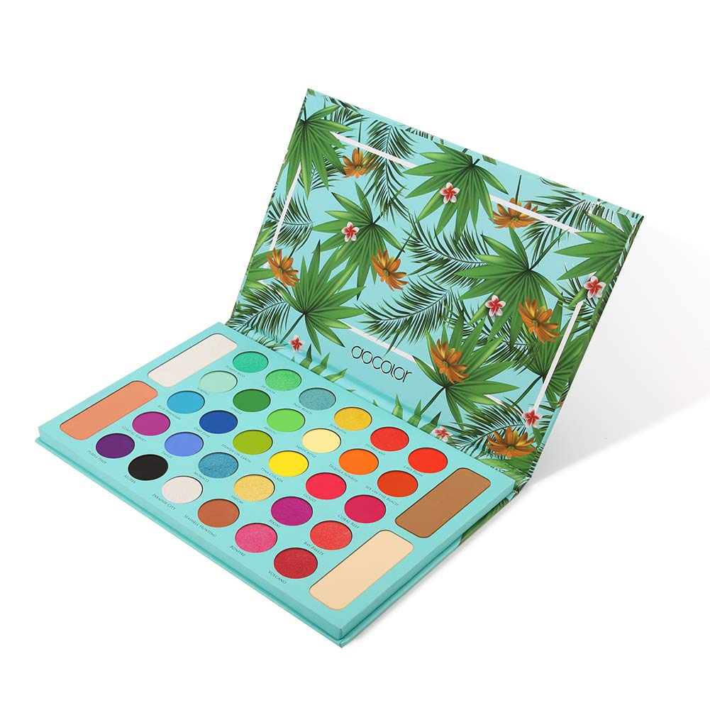 Docolor - Tropical Eyeshadow Palette