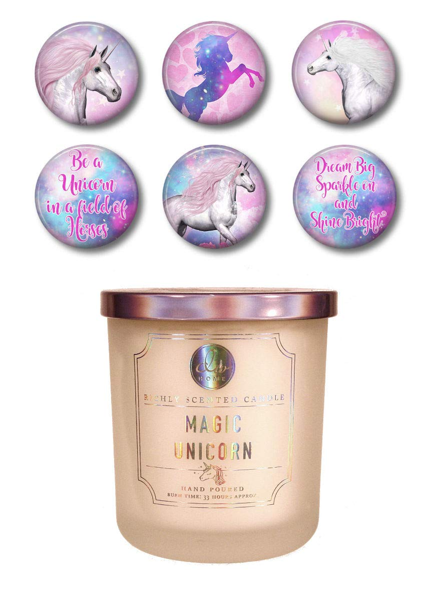 Dw Home Magic Unicorn Cotton Candy Candle