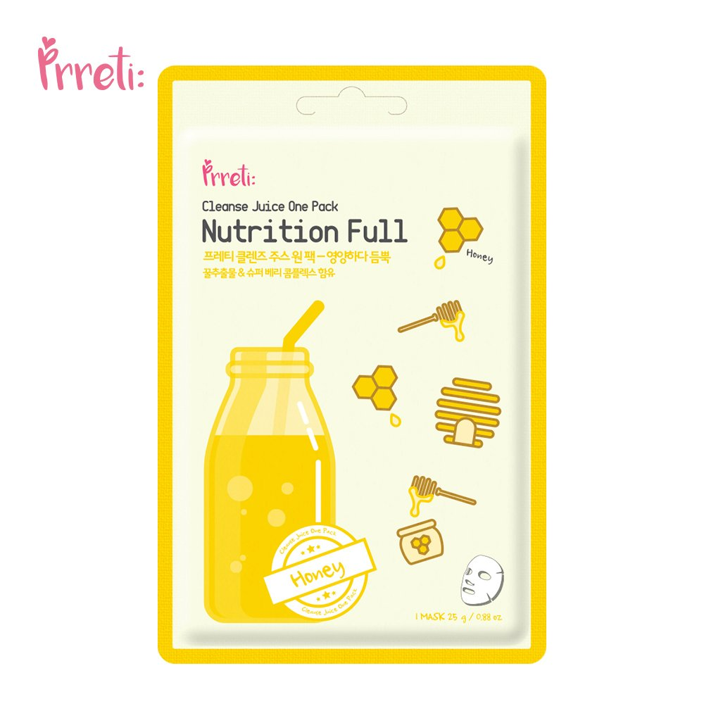 PRRETI - PRRETI Cleanse Juice One Pack(Nutrition Full)