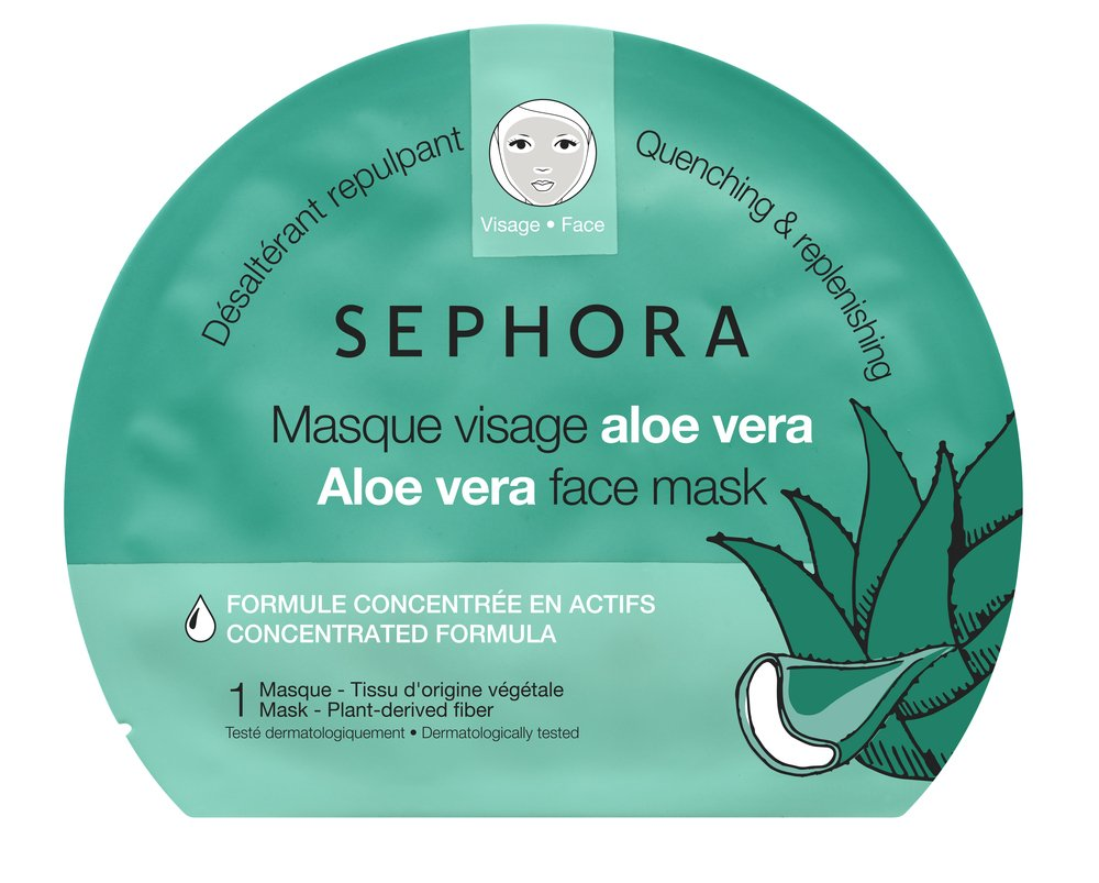 SEPHORA COLLECTION Sephora Collection Aloe Vera Face Mask, Quenching & Replenishing