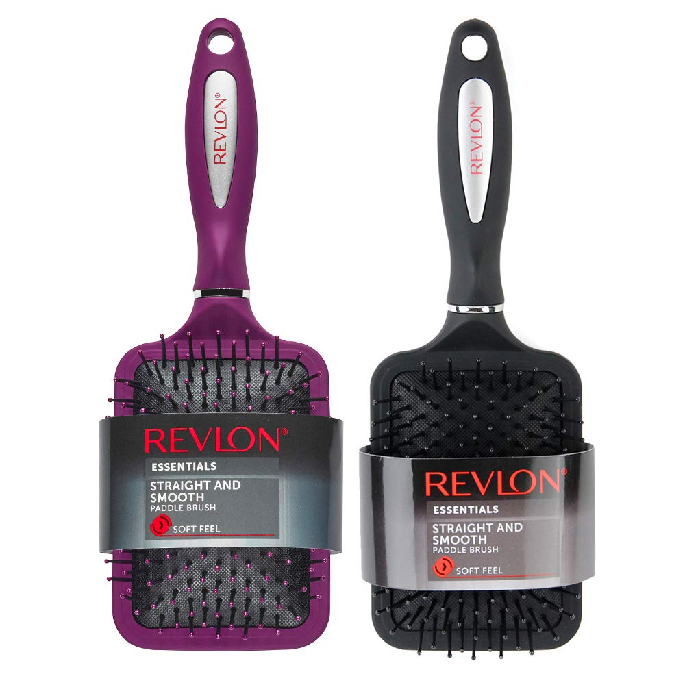 Revlon - Straight & Smooth Soft Touch Paddle Hair Brush