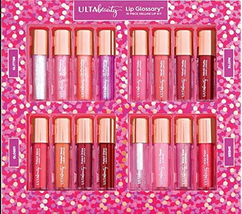 Ulta Beauty - Lip Glossary 16 Piece Deluxe Lip Kit