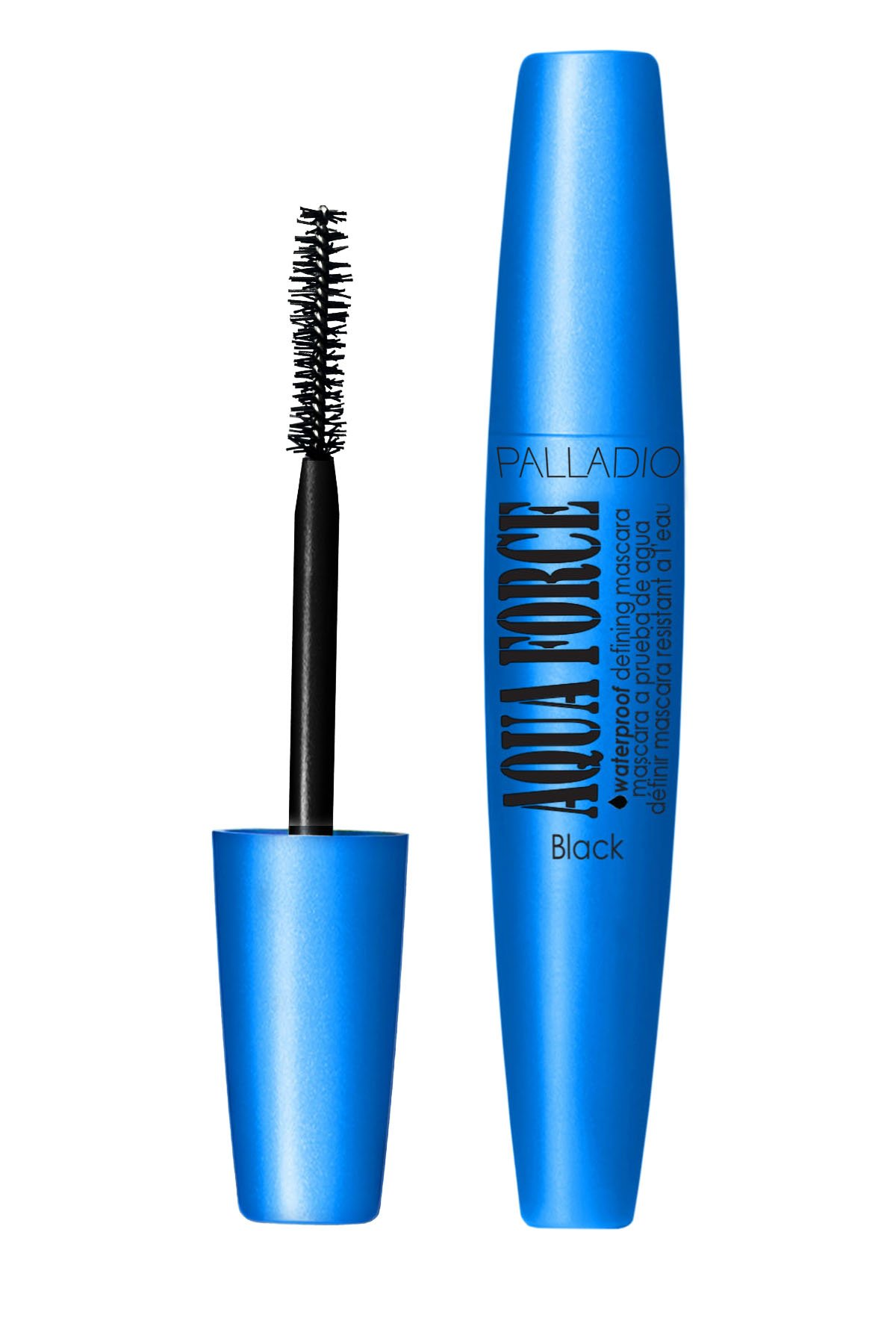 Palladio - Palladio Aqua Force Waterproof Defining Mascara, Black