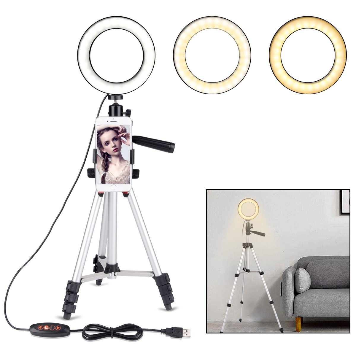 B-Land Ring Light with Tripod Stand