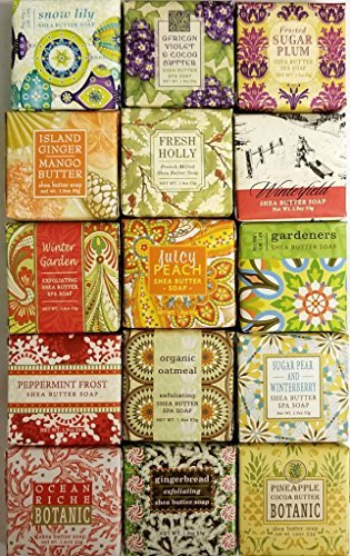 Greenwich Bay Greenwich Bay 15 Luxury Soap Sampler (15 Scent Scentsational Mix)