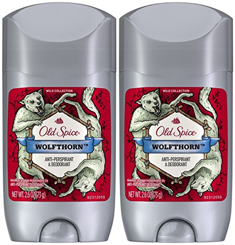 Old Spice - Wild Collection Invisible Solid Antiperspirant Deodorant, Wolfthorn