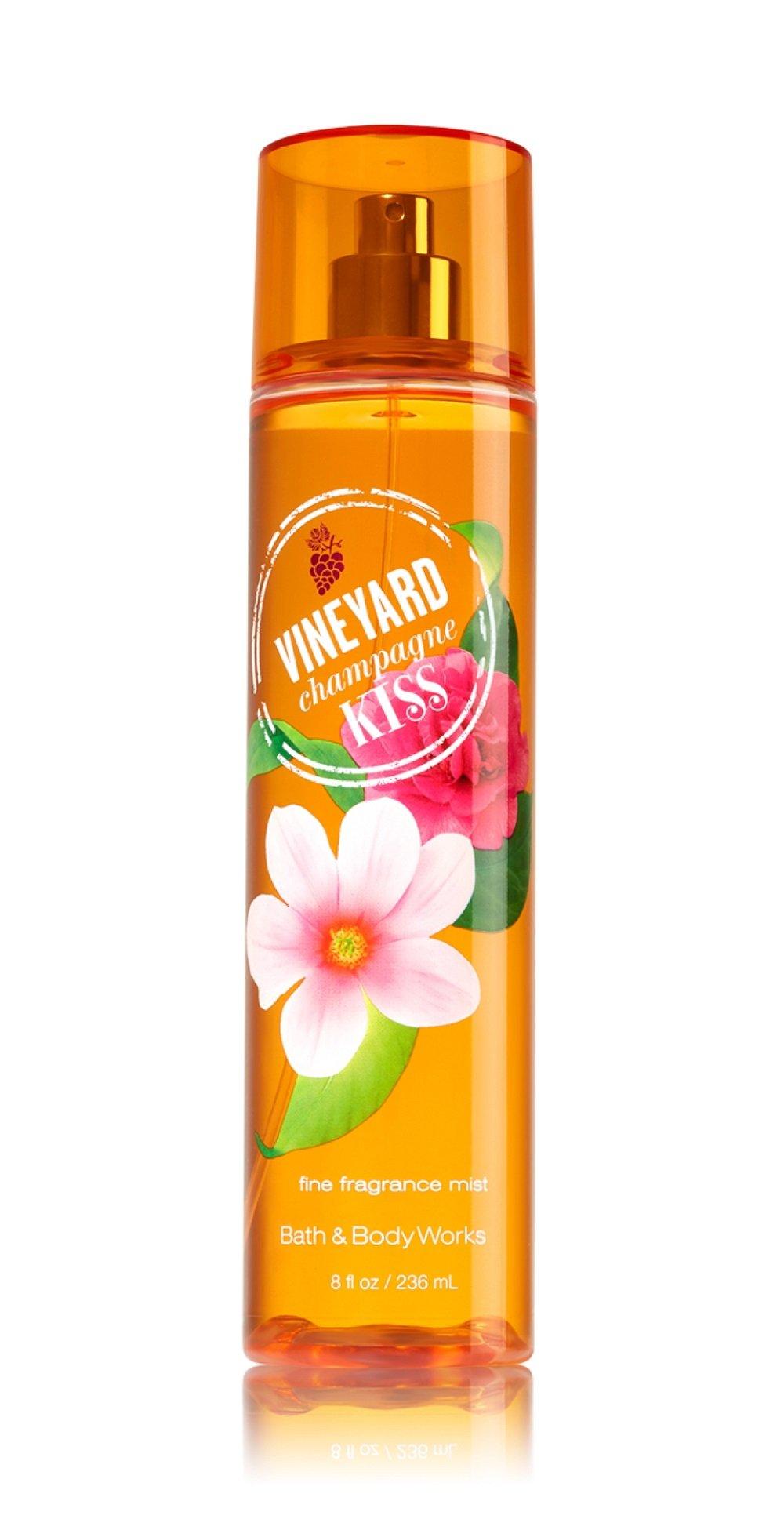 Bath aand Body Works - Bath and Body Works Vineyard Champagne Kiss Fine Fragrance Mist 8 Oz