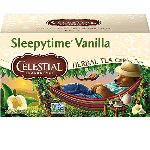 Celestial Seasonings - Celestial Seasonings Sleepytime Vanilla Herbal Tea, 20 Count