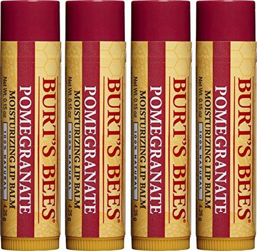 Burt's Bees - Moisturizing Lip Balm, Pomegranate
