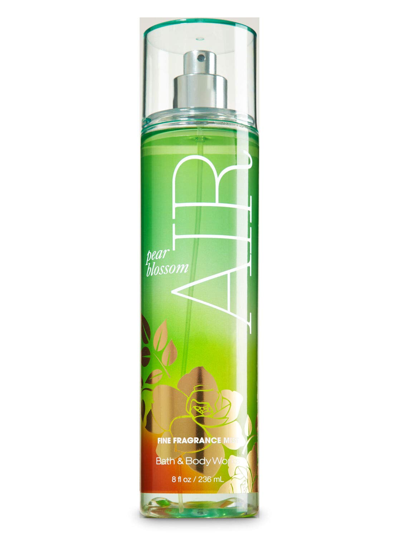 null - Bath and Body Works Pear Blossom Air Fine Fragrance Mist 8 Ounce Full Size Retired Fragrance Spray