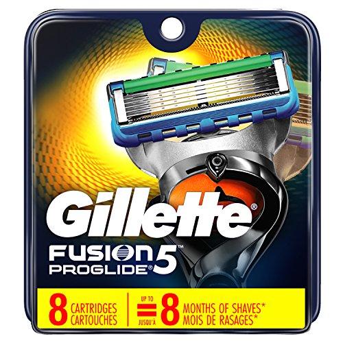 Gillette - Fusion5 ProGlide Men's Razor Blades, 8 Blade Refills