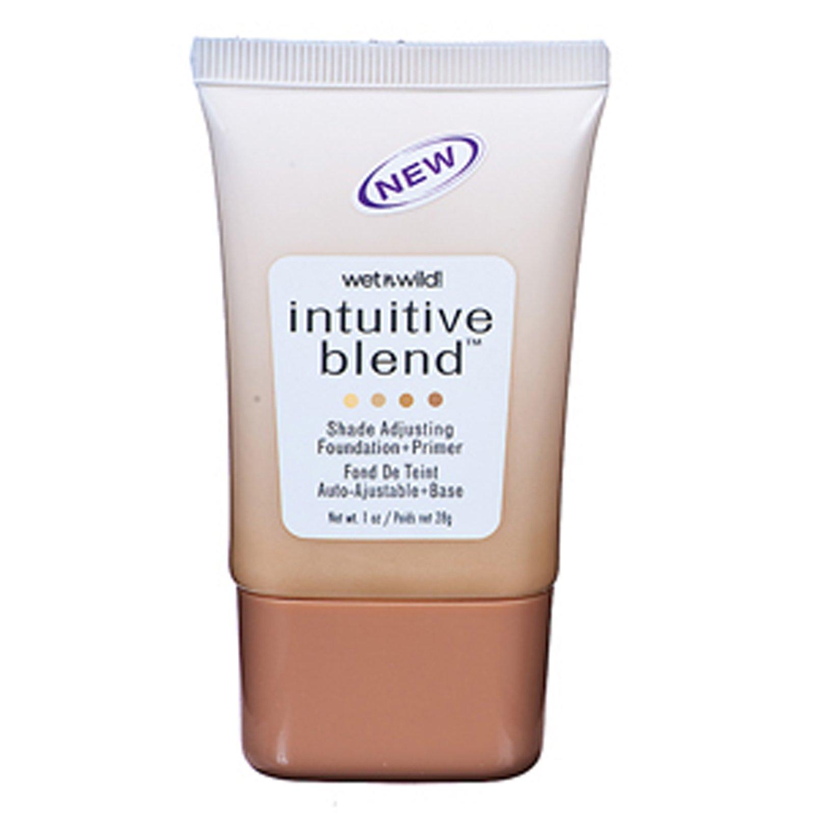 null - Wet n Wild Intuitive Blend Foundation + Primer, Shade Adjusting, Tan 178, 1 oz.