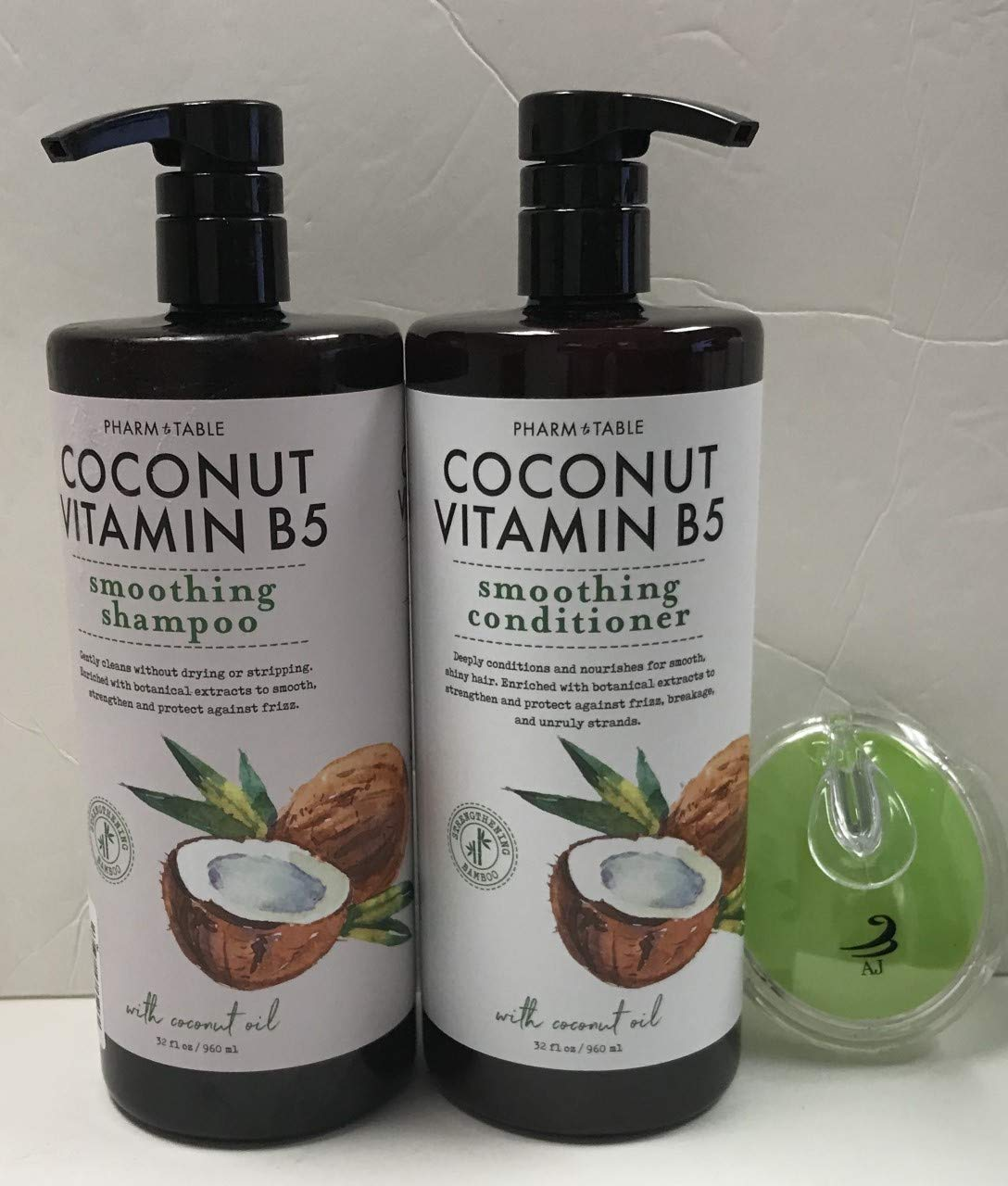 Pharm & Table - Coconut Vitamin B5 Smoothing Shampoo and Conditioner
