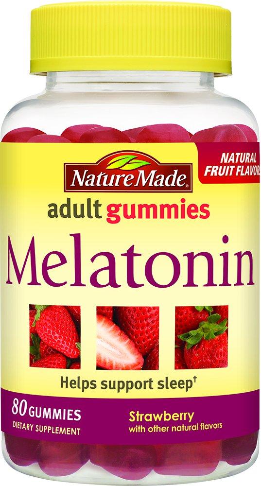 Nature Made - Nature Made Melatonin 2.5 mg. Adult Gummies 80 Ct