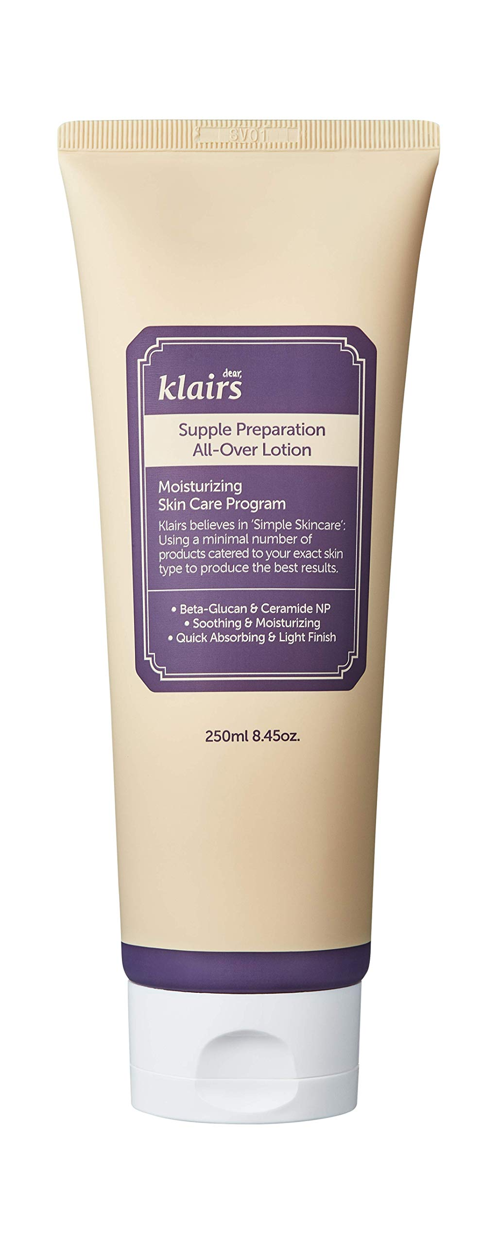 null - [KLAIRS] Supple Preparation All-over lotion, face and body moisturizer, 250ml, 8.45oz