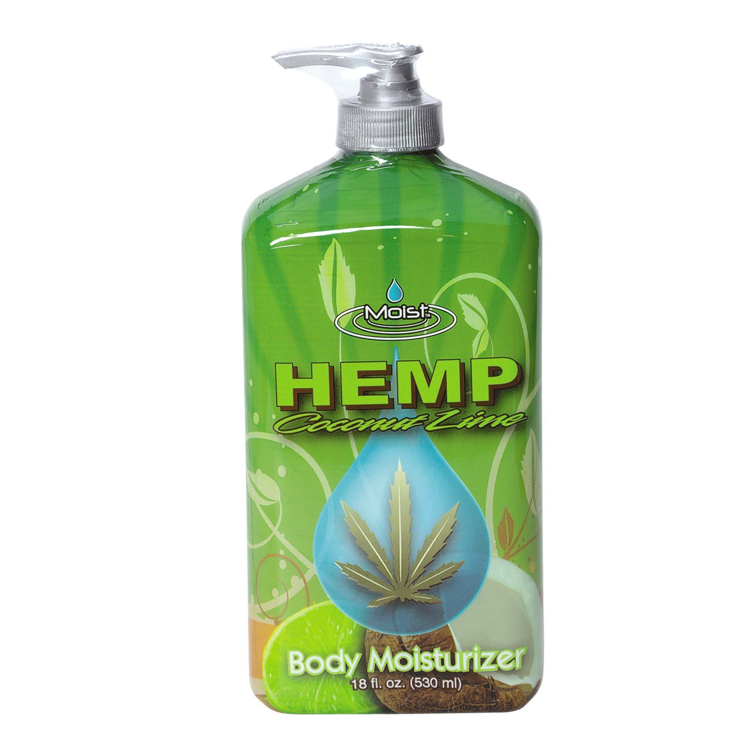 Moist Hemp - Moist Hemp Lime Body Moisturizing Lotion
