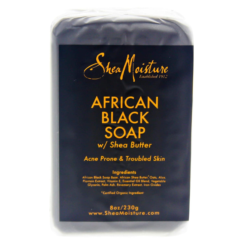 SheaMoisture - SheaMoisture African Black Soap Bar - 8 oz