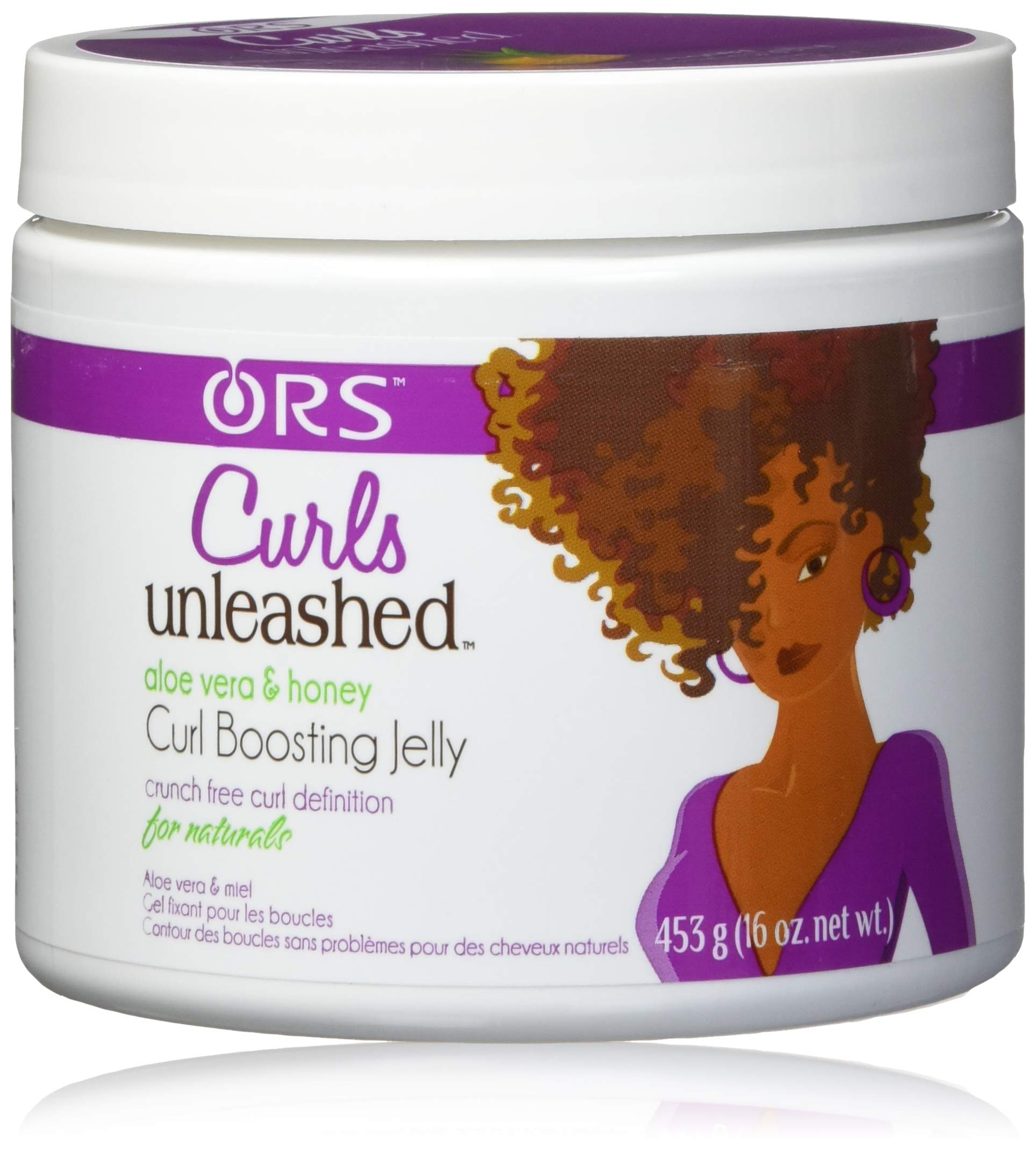 null - Curls Unleashed Aloe Vera and Honey Curl Boosting Jelly, 16 Ounce