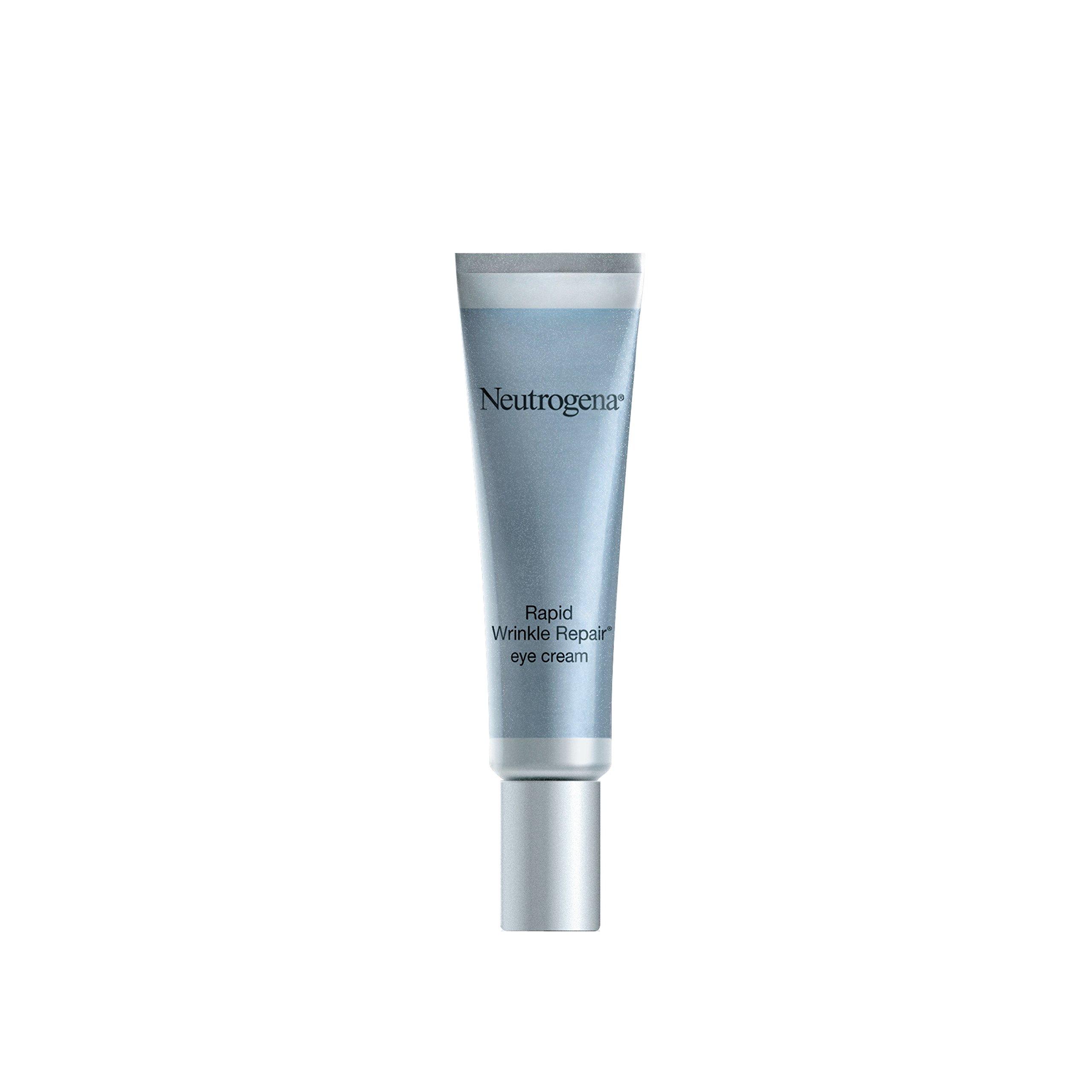Neutrogena - Neutrogena Rapid Wrinkle Repair Hyaluronic Acid Retinol Under Eye Cream - Anti Wrinkle Eye Cream for Dark Circles & Puffiness & Under Eye Bags - Hyaluronic Acid, Glycerin & Retinol Cream, 0.5 fl. oz