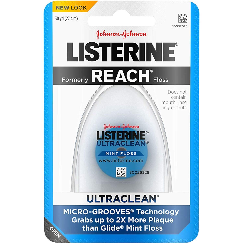 Listerine - Listerene Ultra Clean Flo Size 30yard (Pack Of 3)