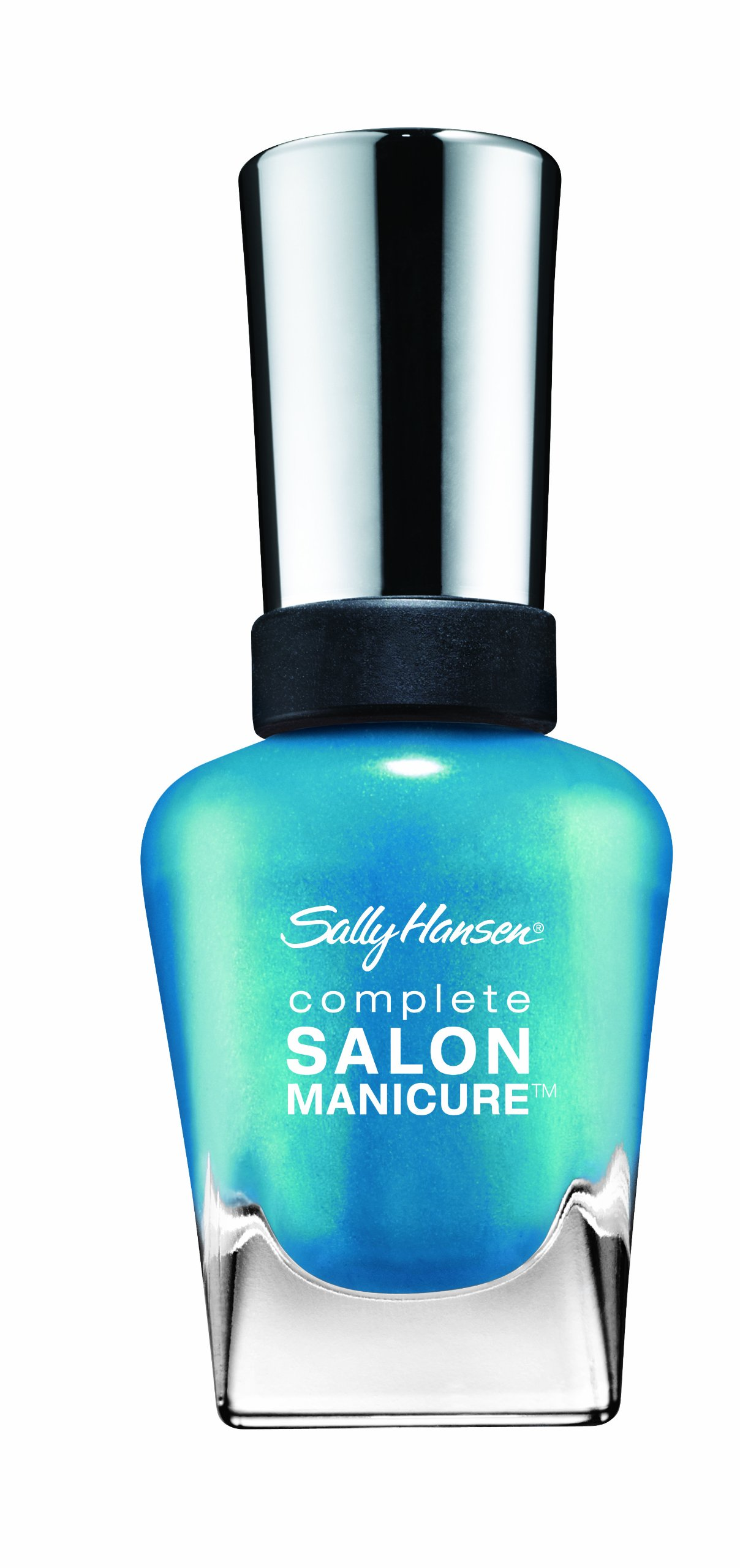 Sally Hansen - Sally Hansen Complete Salon Manicure, Calypso Blue, 0.5 Ounce