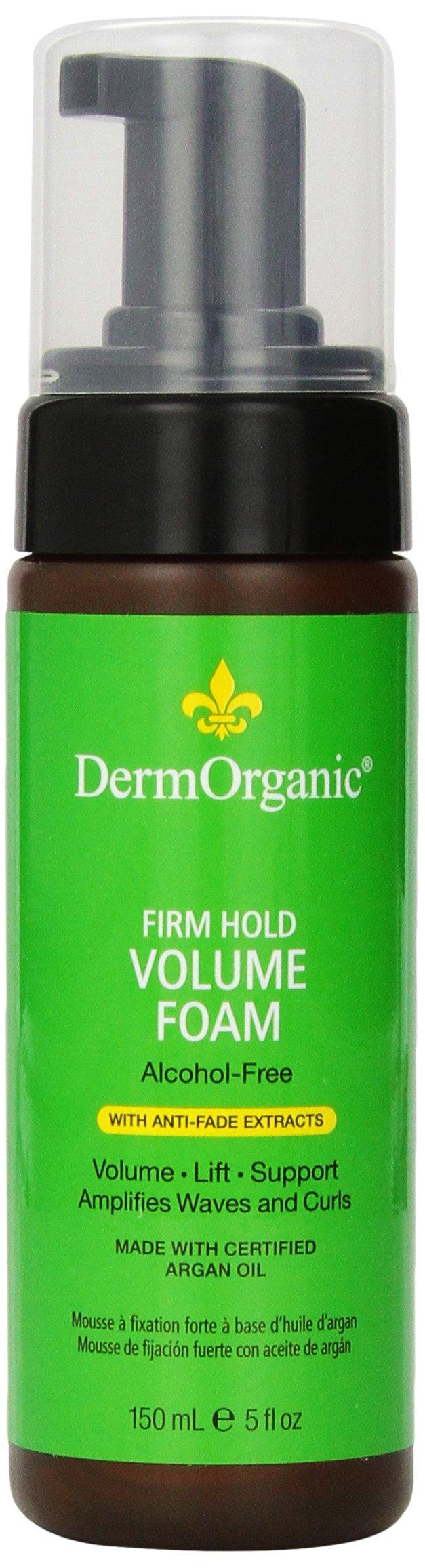 DermOrganic - Firm Hold Anti-Fade Volume Foam with Argan Oil