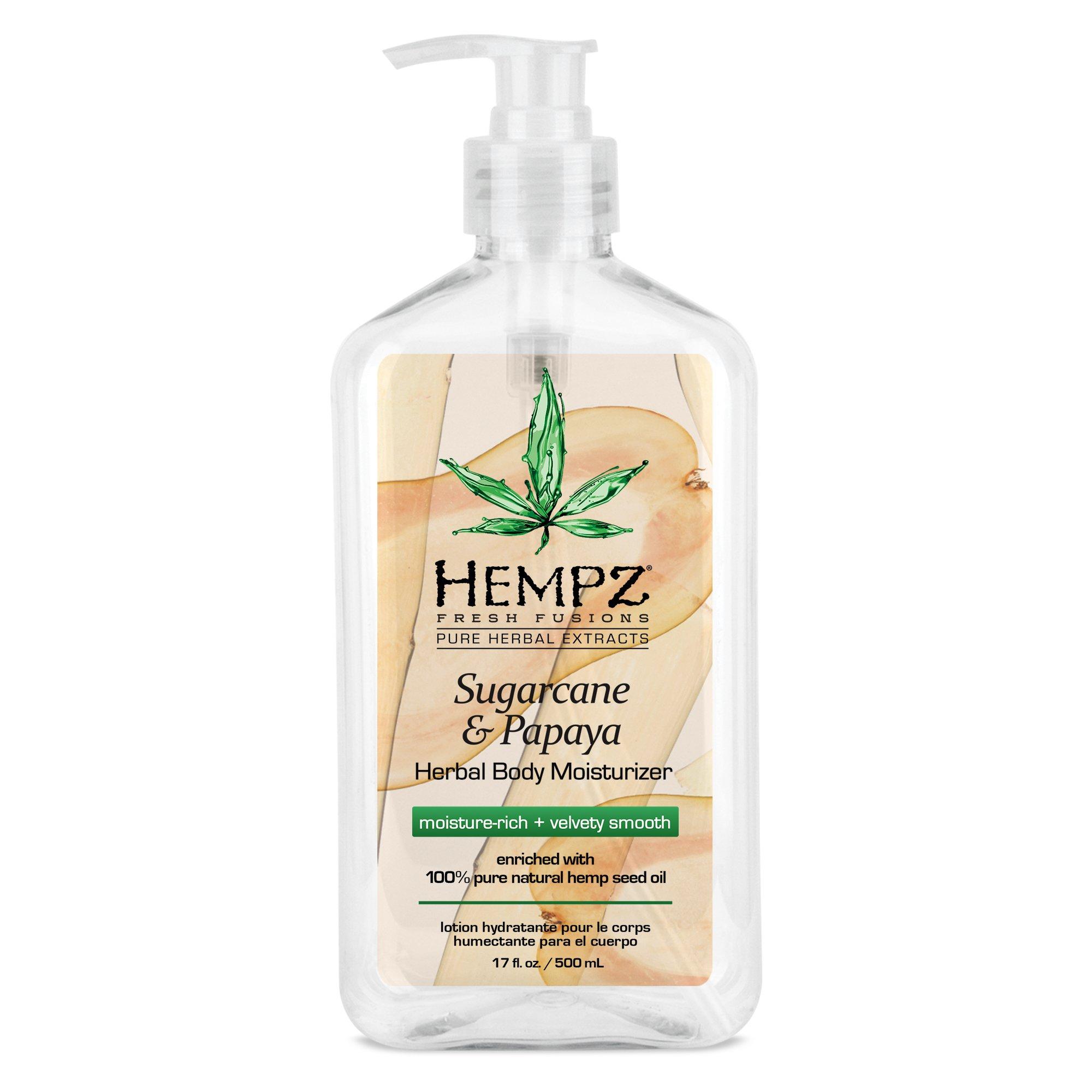 Hempz - Hempz Sugarcane & Papaya Herbal Body Moisturizer 17.0 oz