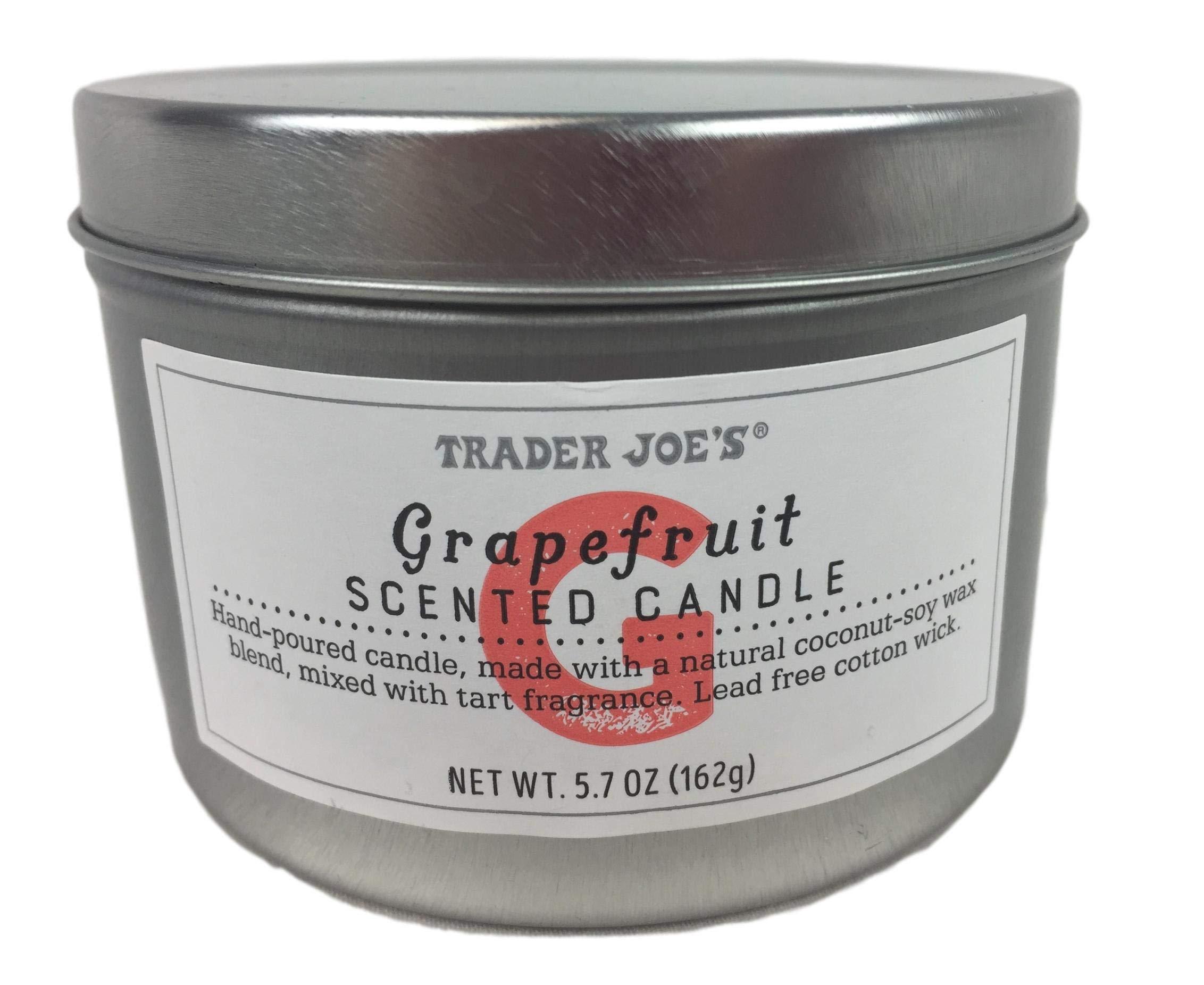 Trader Joe's - Trader Joe's Grapefruit Scented Candle NET WT 5.7 OZ (162g)