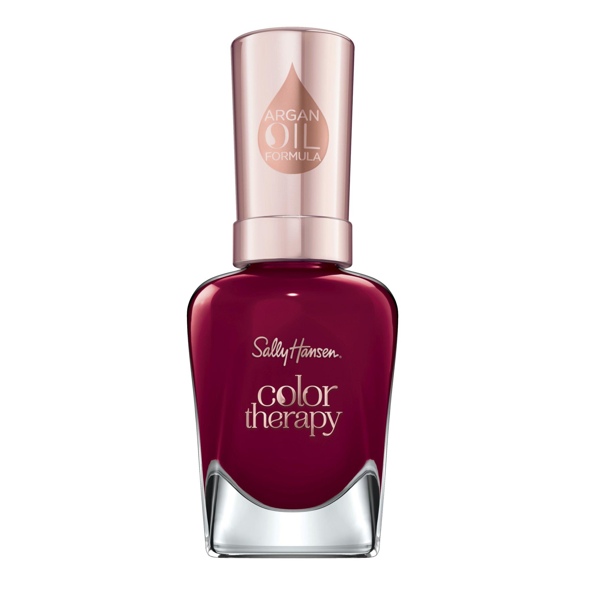 Sally Hansen - Sally Hansen Color Therapy Nail Polish, Unwine'd, Pack of 1