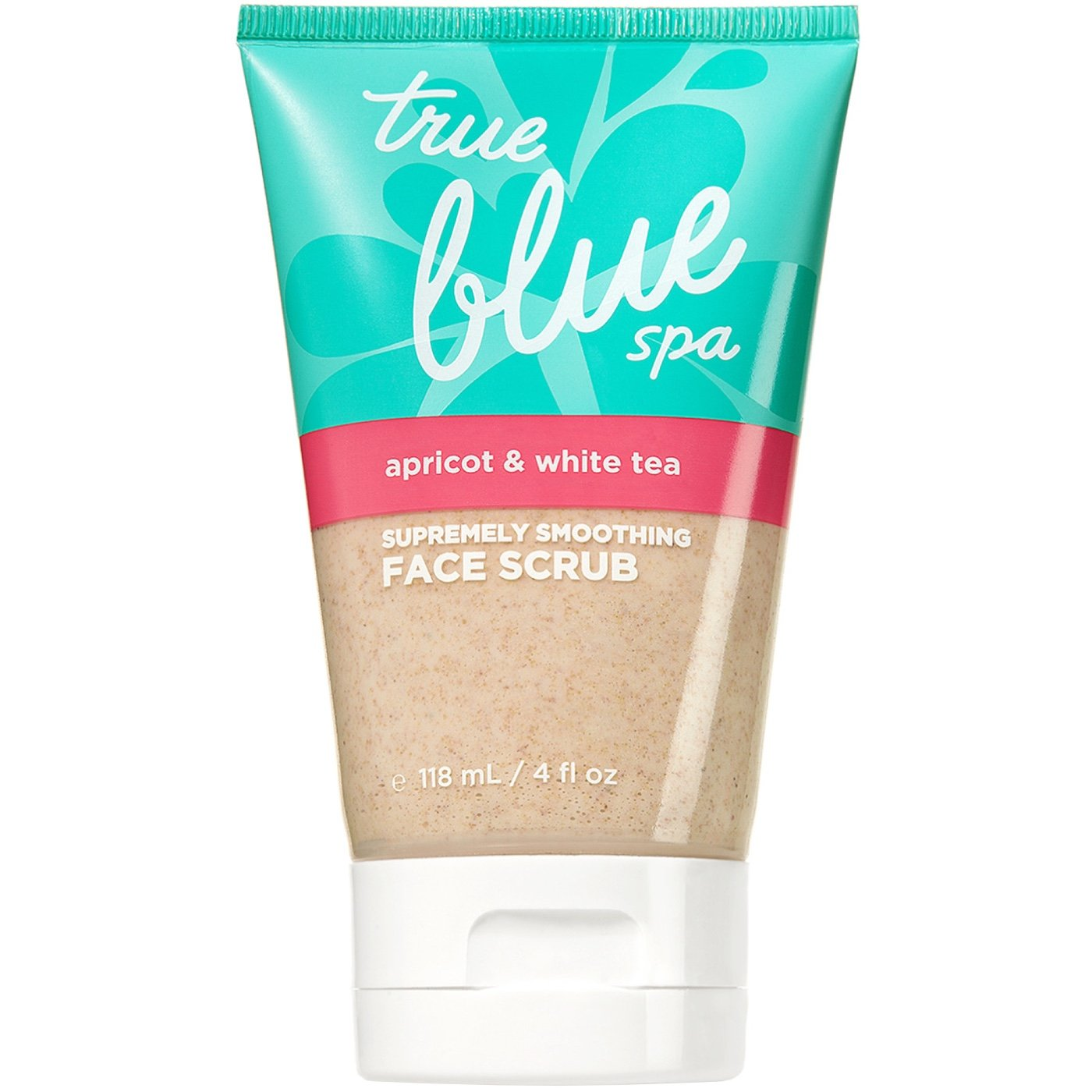 Bath & Body Works - Bath & Body Works True Blue Spa Apricot & White Tea Facial Scrub 4oz