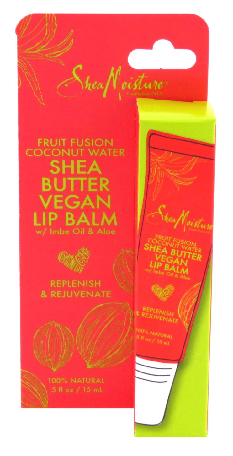 Shea Moisture Shea Moisture Lip Balm Fruit Fusion & Coconut Water 0.5 Ounce (15ml) (2 Pack)