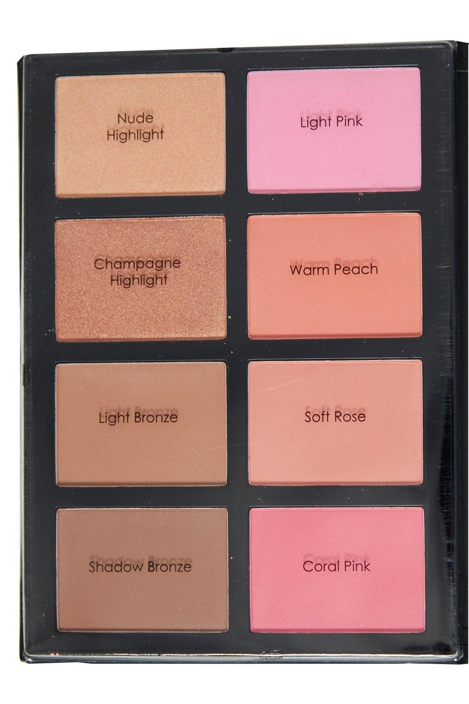 Profusion - GENX Women Profusion Tool Including Makeup Book Palette Set (Blush&Bronzer)