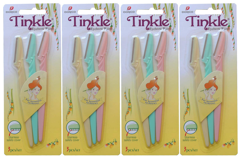 Tinkle - Tinkle Eyebrow Razor - 12 Pieces