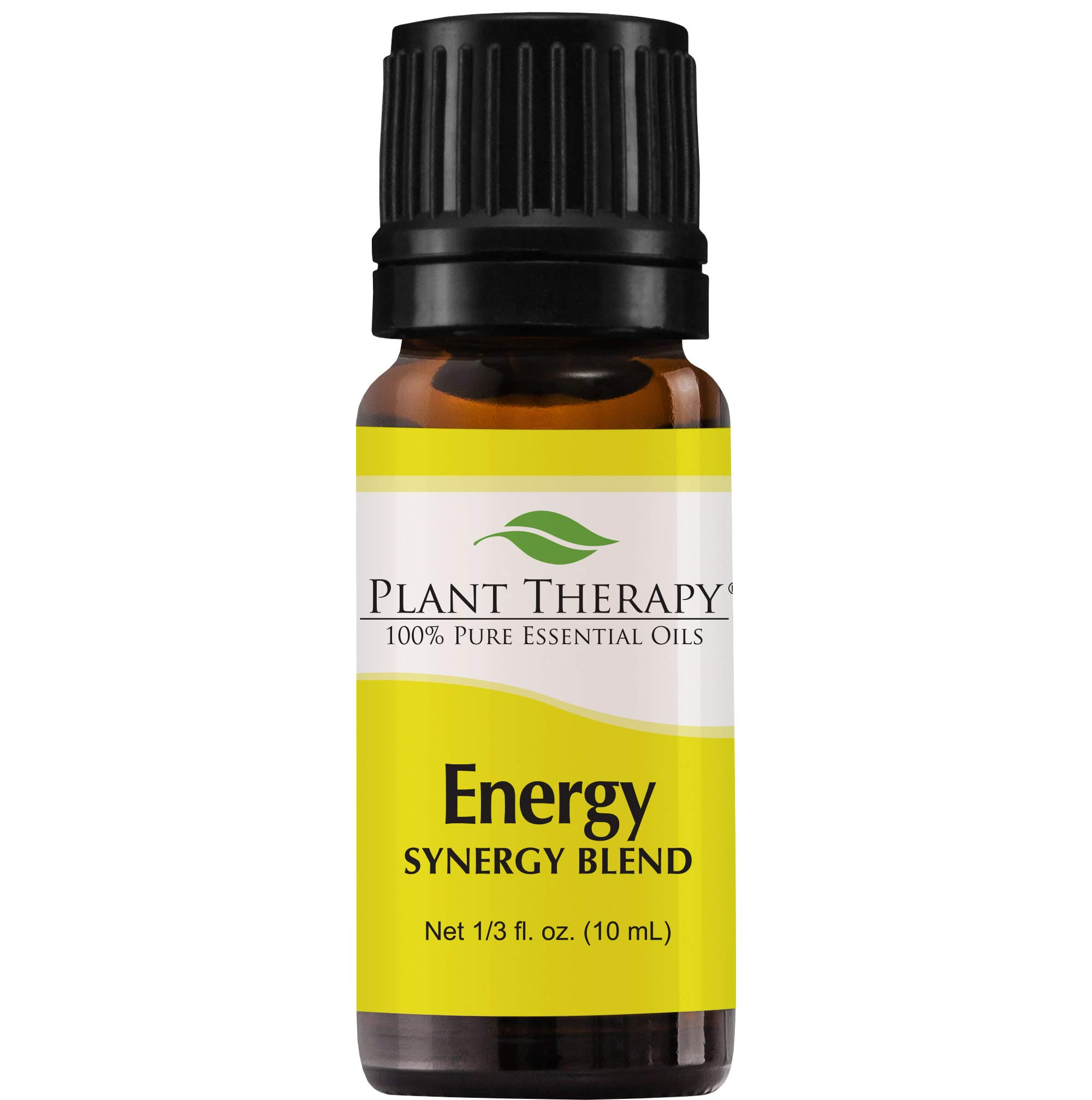 Plant Therapy - Plant Therapy Essential Oil | Energy Synergy | Refreshing, Energizing Blend | 100% Pure, Undiluted, Natural Aromatherapy, Therapeutic Grade | 10 milliliter (1/3 ounce)