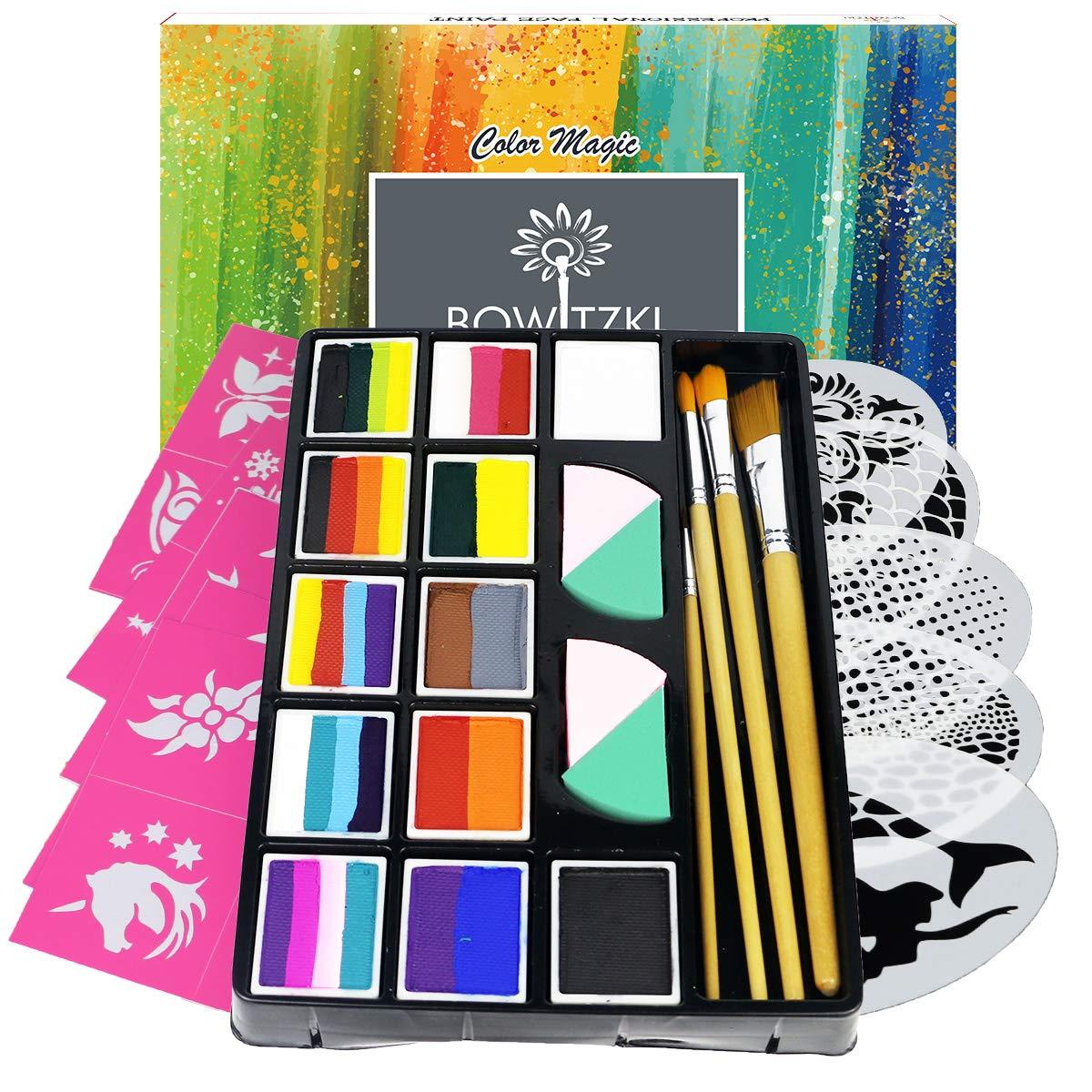 Bowitzki - Professional Face Painting Kit
