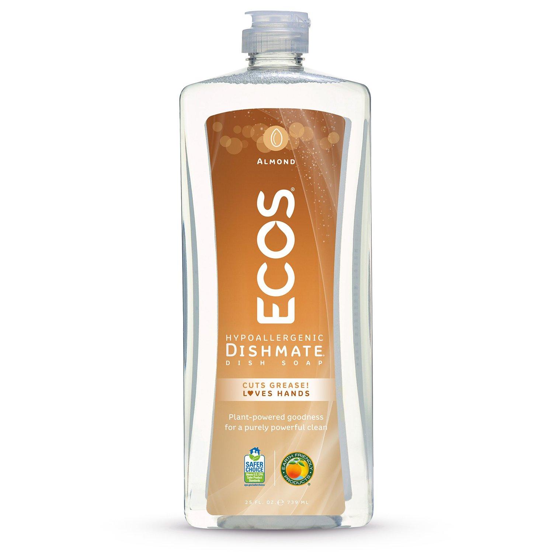 Earth Friendly Products - Earth Friendly Products ECOS Dishmate Dish Liquid, Almond 25 oz. (Pack of 2)