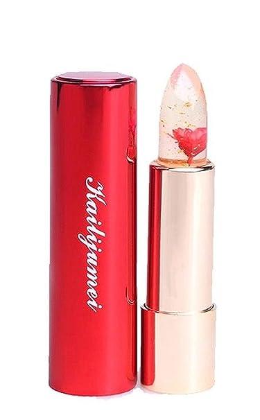 Kailijumei - Kailijumei Moisturizer Lipsticks Magic Colour Temperature Change Flower Jelly Lipstick (Flame Red)