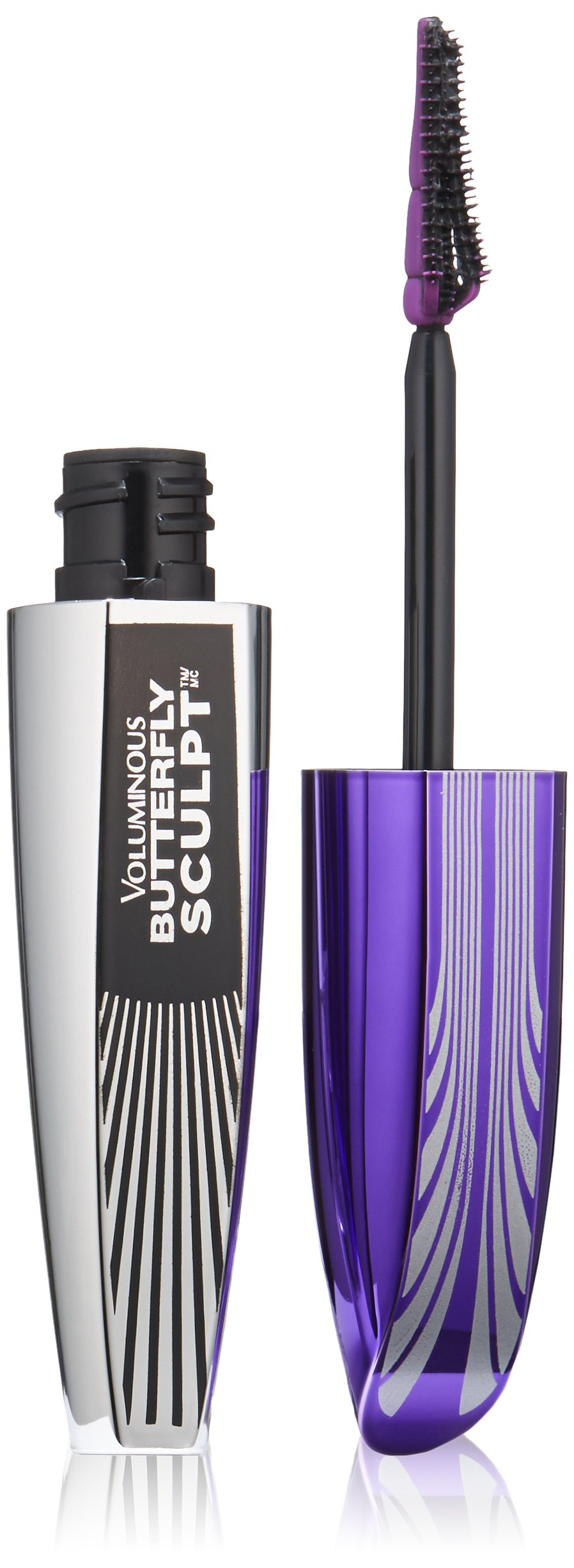 L'Oreal Paris - L'Oreal Paris Cosmetics Voluminous Butterfly Sculpt Washable Mascara, Black, 0.27 Fluid Ounce