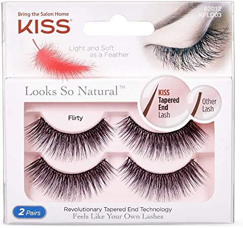 Kiss - Look so Natural Double Pack, Flirty