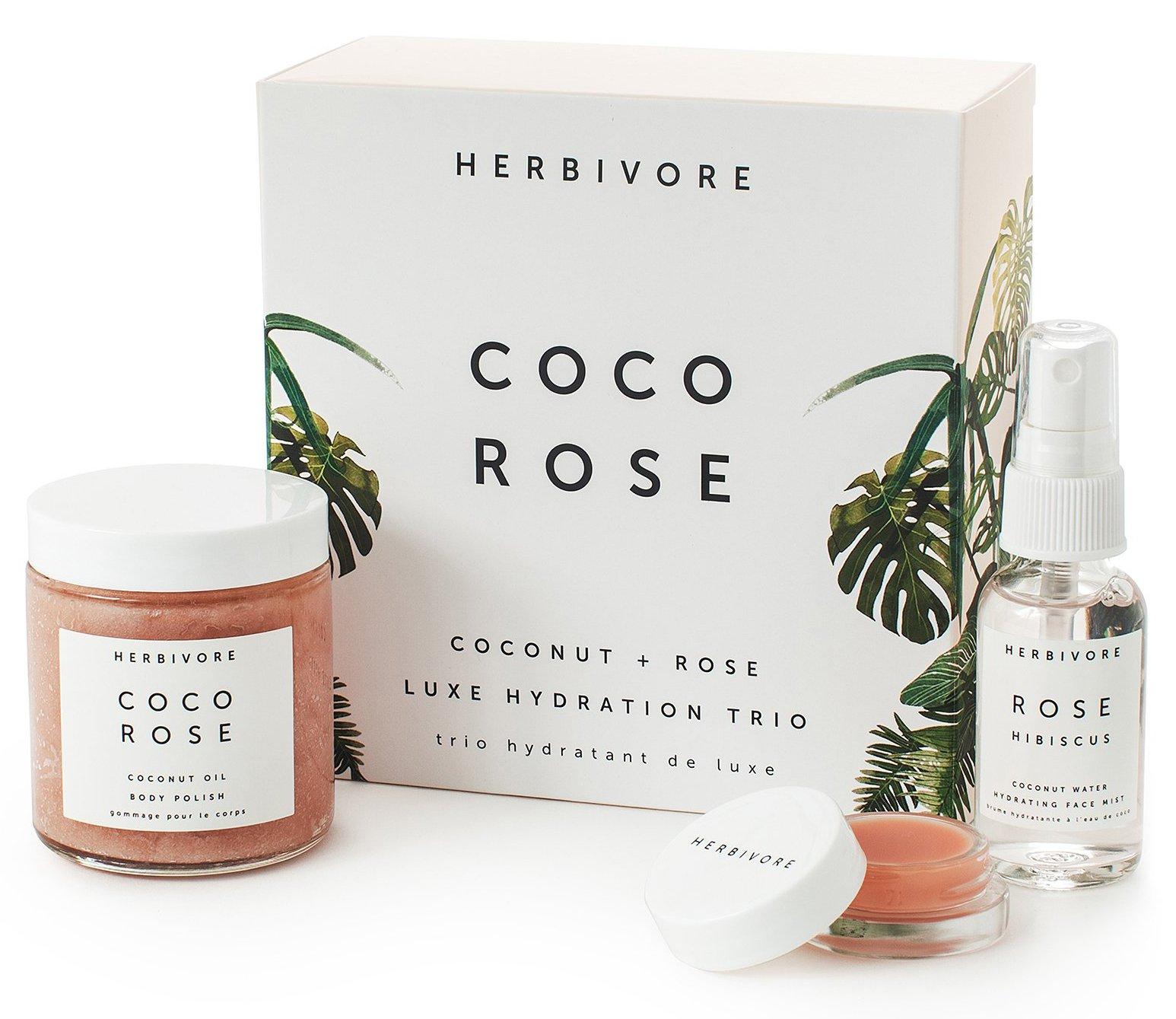 Herbivore Botanicals Herbivore Botanicals - All Natural Coco Rose Luxe Hydration Trio