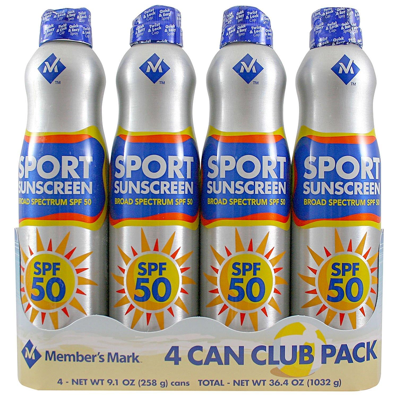 Member's Mark - Sport SPF 50 Continuous Spray Sunscreen