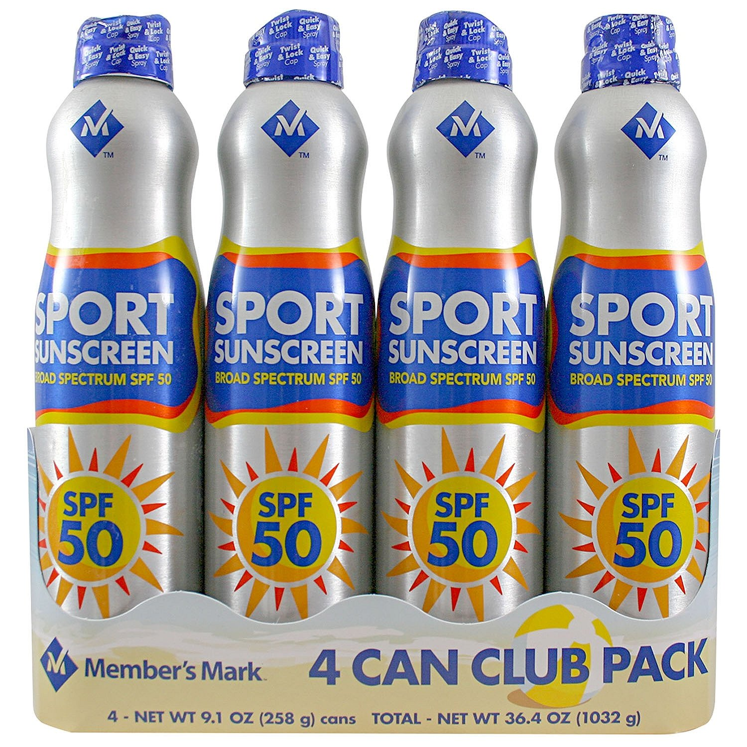 Member's Mark - Sport SPF 50 Continuous Spray Sunscreen
