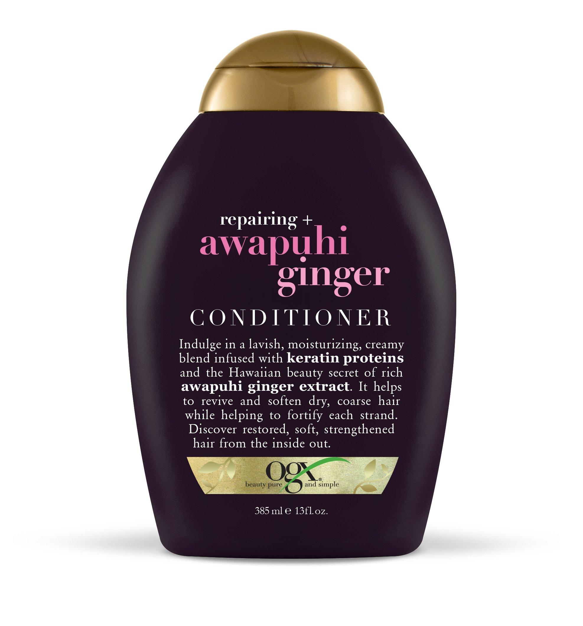 OGX - OGX Reparing + Awapuhi Ginger Conditioner, 13 Ounce