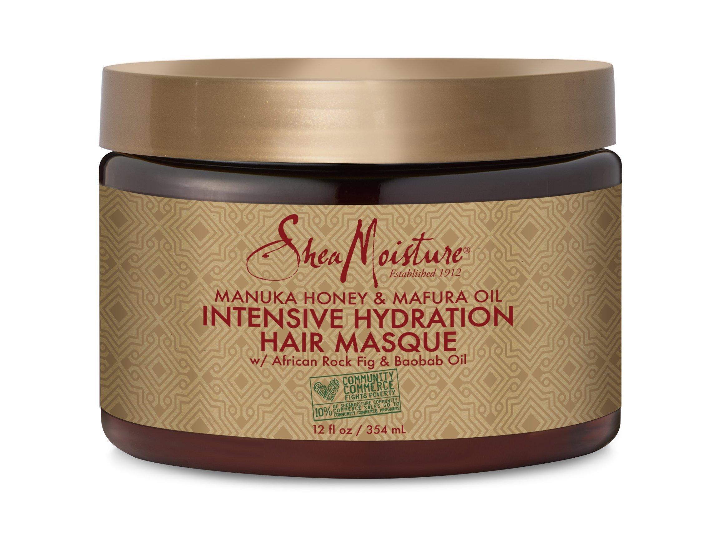 SheaMoisture - Sheamoisture Manuka Honey &Mafura Oil Intensive Hydration Treatment Masque, 12 Oz