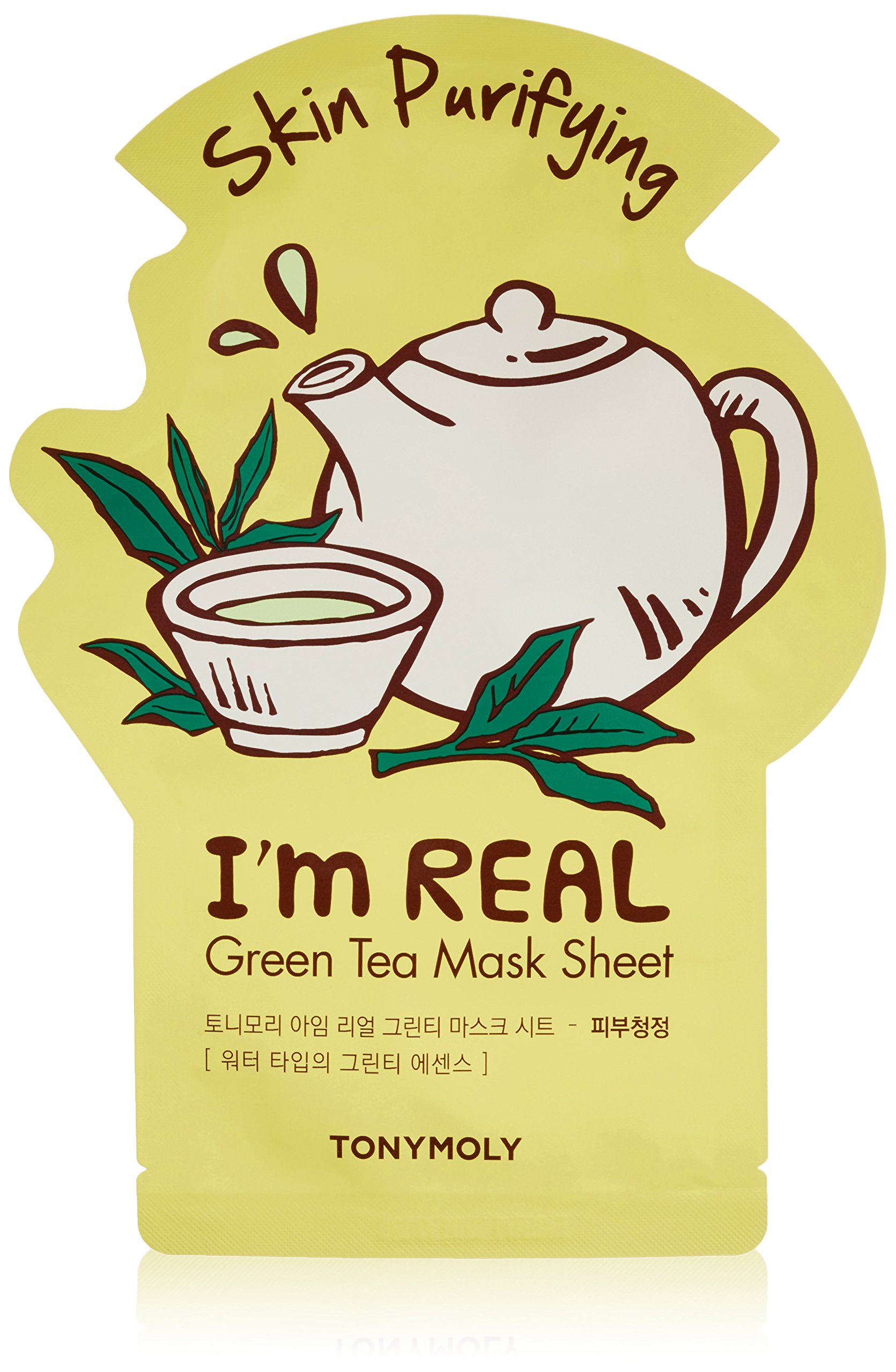 TONYMOLY - TONYMOLY I'm Real Green Skin Purifying Tee Mask