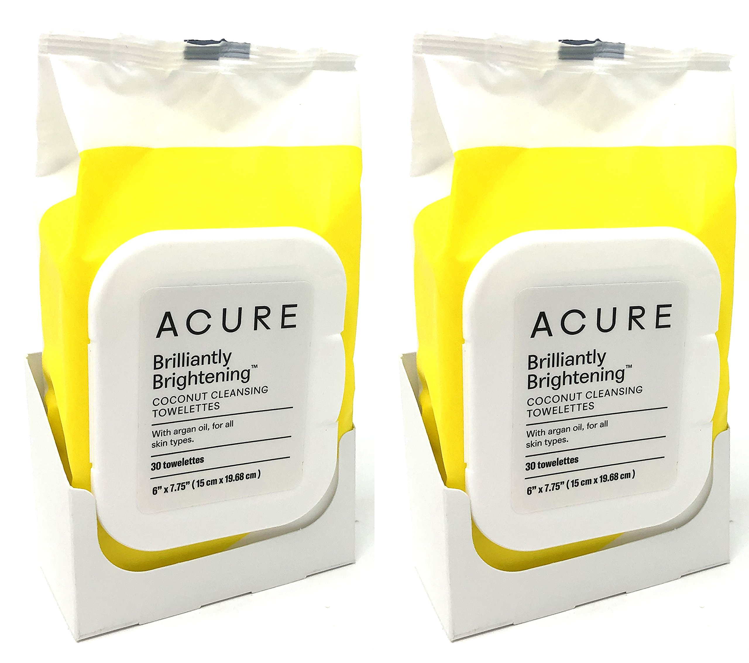 Acure - Coconut + Argan Oil Cleansing Towelettes